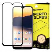 Folie Protectie Ecran WZK pentru Nokia 2.3, Sticla securizata, Full Face, Full Glue, Neagra