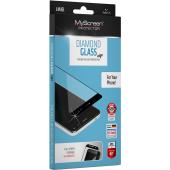 Folie Protectie Ecran MyScreen pentru Apple iPhone XR / Apple iPhone 11, Sticla securizata, Full Face, Full Glue, MS Diamond, Neagra, Blister