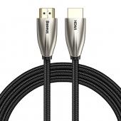 Cablu Audio si Video HDMI la HDMI Baseus Horizontal 4K, 60Hz, 3D, 18Gbps, 3 m, Negru, Blister CADSP-C01