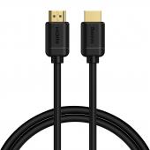 Cablu Audio si Video HDMI la HDMI Baseus 4K, 60Hz, 3D, HDR, 18Gbps, 2 m, Negru, Blister CAKGQ-B01
