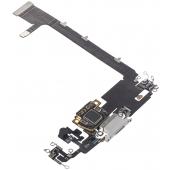 Banda Cu Conector Incarcare / Date - Microfon Apple iPhone 11 Pro Max, Argintiu