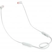 Handsfree Casti Bluetooth JBL Tune 110BT, In-Ear, Alba JBLT110BTWHTAM