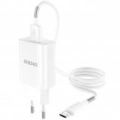Incarcator Retea cu cablu MicroUSB Dudao A3EU, QC3, 1 X USB, Alb