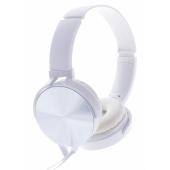 Casti Fara Microfon On-Ear Rebeltec Magico, 3.5 Mm, Alb, Blister