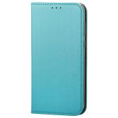 Husa Piele OEM Smart Magnet pentru Xiaomi Mi Note 10 Lite, Turcoaz