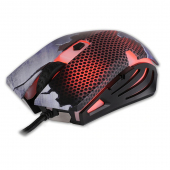 Mouse Gaming cu fir Rebeltec HORNET, Negru Multicolor, Blister