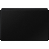 Husa Tableta Piele Samsung cu tastatura Samsung Galaxy Tab S7 Plus T970, Neagra, Blister EF-DT970UBEGEU