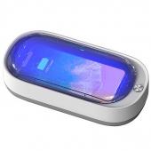 Sterilizator UV OEM, UV-C + UV-A, Incarcare Wireless 15W, Functie Odorizant, Alb