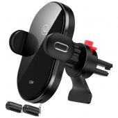 Incarcator Auto Wireless Usams US-CD132, Quick Charge. 15W, Negru, Blister CD132ZJ01