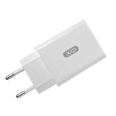 Incarcator Retea USB XO Design L36, 2.4A, QC 3.0, 1 X USB, Alb, Blister