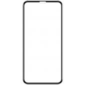 Folie Protectie Ecran OEM pentru Apple iPhone XR / Apple iPhone 11, Sticla securizata, Full Face, Full Glue, 9D, Neagra, Blister
