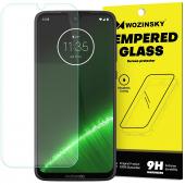 Folie Protectie Ecran WZK pentru Motorola Moto G7 Plus, Sticla securizata, Blister
