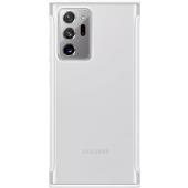 Husa Samsung pentru Samsung Galaxy Note 20 Ultra N985 / Samsung Galaxy Note 20 Ultra 5G N986, Clear Protective, Alba, Blister EF-GN985CWEGEU