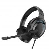 Casti Gaming Baseus GAMO Immersive 3D, Cu Microfon, USB, RGB, Over-Ear, Negre NGD05-01