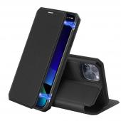 Husa Poliuretan DUX DUCIS Skin X pentru Apple iPhone 11 Pro Max, Neagra, Blister