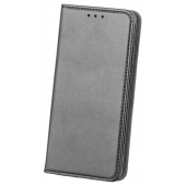 Husa Piele OEM Smart Magnetic pentru Samsung Galaxy A21s, Neagra, Bulk