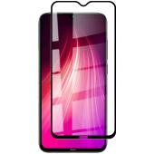 Folie Protectie Ecran OEM pentru Xiaomi Redmi 8 / Xiaomi Redmi 8A, Sticla securizata, Full Face, Full Glue, 6D, Neagra, Blister