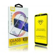 Folie Protectie Ecran OEM pentru Xiaomi Mi A3, Sticla securizata, Full Face, Full Glue, 6D, Neagra, Blister