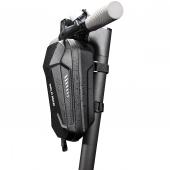 Geanta Plastic impermeabila SAKWA WILDMAN pentru tricicleta electrica, Marimea M, HARDPOUCH, Neagra, Blister