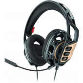 Casti Gaming Over-Ear Plantronics RIG 300, Negre Aurii
