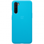 Husa TPU OnePlus Nord, Sandstone Bumper (Nord Blue), Albastra 5431100170