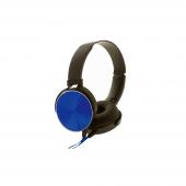 Casti On-Ear Rebeltec Magico, Fara microfon, 3.5 mm, Albastru