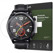 Folie Protectie Ecran HOFI pentru Huawei Watch GT, Sticla securizata, PRO+, Neagra