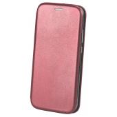 Husa Piele OEM Elegance pentru Xiaomi Redmi 9, Visinie, Bulk