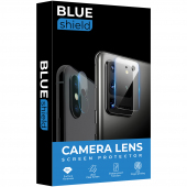 Folie Protectie Camera spate BLUE Shield pentru Apple iPhone XS Max, Plastic