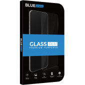 Folie Protectie Ecran BLUE Shield pentru Samsung Galaxy A10s A107, Sticla securizata, Full Face, Full Glue, 0.33mm, 9H, 2.5D, Neagra, Blister