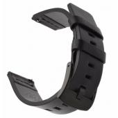 Curea piele Tactical pentru Huawei Watch GT, Neagra Blister
