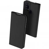 Husa Piele DUX DUCIS Skin Pro pentru Samsung Galaxy M31, Neagra, Blister