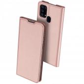 Husa Piele DUX DUCIS Skin Pro pentru Samsung Galaxy M31, Roz Aurie, Blister