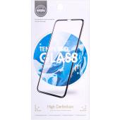 Folie Protectie Ecran OEM pentru Samsung Galaxy M31, Sticla securizata, Full Face, Full Glue, 9D, Neagra, Blister