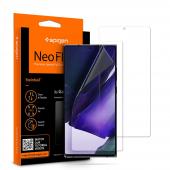 Folie Protectie Ecran Spigen pentru Samsung Galaxy Note 20 N980 / Samsung Galaxy Note 20 5G N981, Plastic, Neo Flex HD, Set 2 Bucati, Blister AFL01451