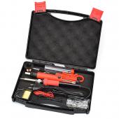 Trusa Letcon / Ciocan de lipit electric 60W cu instrumente ajutatoare Compact Edition