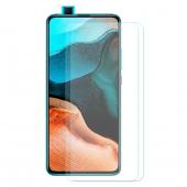 Folie Protectie Ecran Enkay pentru Xiaomi Redmi K30 / Xiaomi Redmi K30 Pro, Plastic, Full Glue, 2.5 D, 9H, Set 2 Bucati, Blister