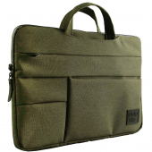 Geanta Textil pentru laptop max 15 inci UNIQ Cavalier, 2in1, Verde