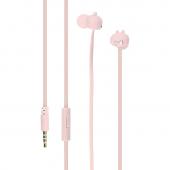 Handsfree Casti In-Ear Tellur Pixy, Cu microfon, 3.5 mm, Roz, Blister TLL162242