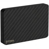 Portofel Magnetic Modular Pitaka MagEZ Wallet UE, Fibra Carbon, Negru AC6001 (UE)
