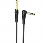 Adaptor Audio 3.5 mm la 3.5 mm HOCO UPA14, 2 m, Negru