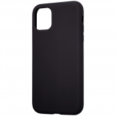Husa TPU Tactical Velvet Smoothie pentru Apple iPhone 11, Asphalt, Neagra