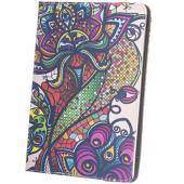 Husa Poliuretan GreenGo Folk pentru Tableta 9 - 10 inci, Multicolor, Bulk