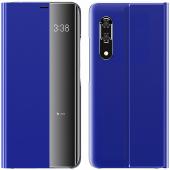 Husa Piele - Poliuretan OEM New Sleep Case pentru Samsung Galaxy A51 A515 / Samsung Galaxy A31, Albastra, Bulk