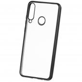 Husa TPU Forcell NEW ELECTRO MATT pentru Apple iPhone 12 Pro Max, Neagra, Bulk