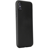 Husa TPU Forcell Soft pentru Apple iPhone 12 mini, Neagra, Bulk
