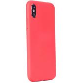 Husa TPU Forcell Soft pentru Apple iPhone 12 mini, Rosie