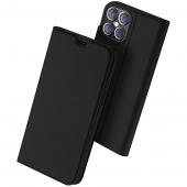 Husa Poliuretan DUX DUCIS Skin Pro pentru Apple iPhone 12 Pro Max, Neagra, Blister