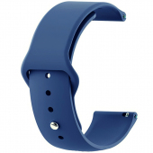 Curea Ceas Tactical 636 Double Silicone Band, 20 mm, Bleumarin