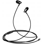 Handsfree Casti In-Ear Usams EP-37 Electroplating, Cu microfon, 3.5 mm, Negru HSEP3701